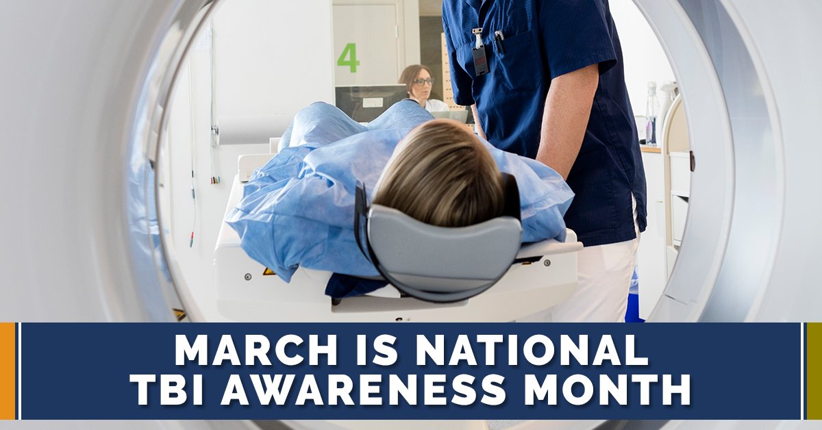 March is National TBI Awareness Month